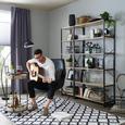 Zatemnitvena Zavesa Riccardo - antracit, Moderno, tekstil (140/245cm) - Premium Living