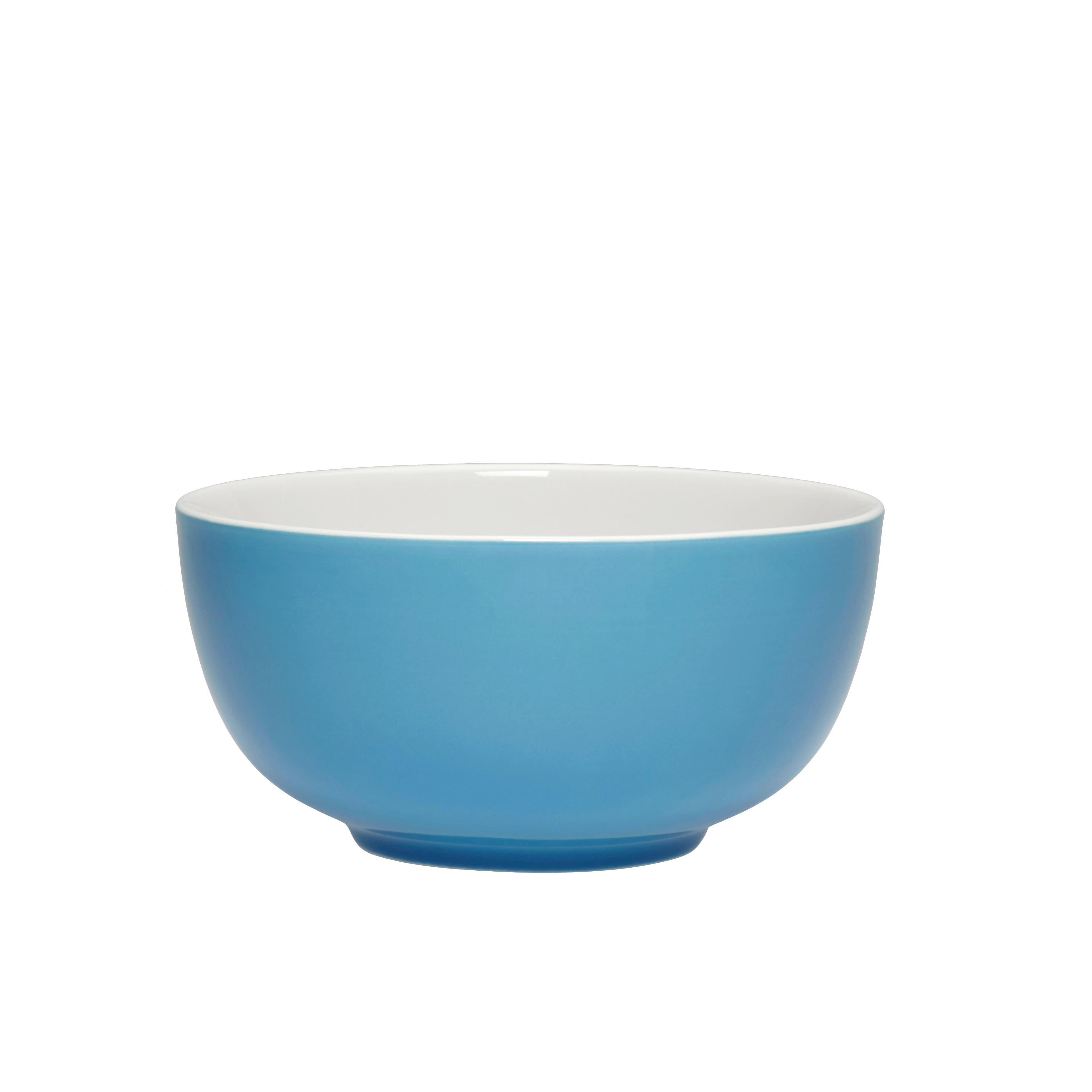 Müslischale Sandy in Türkis aus Keramik - Türkis, KONVENTIONELL, Keramik (13,7/6,6cm) - MÖMAX modern living