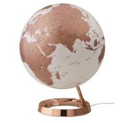 Globus in Bronzefarben - Bronzefarben, Basics, Glas/Kunststoff (40/30cm)