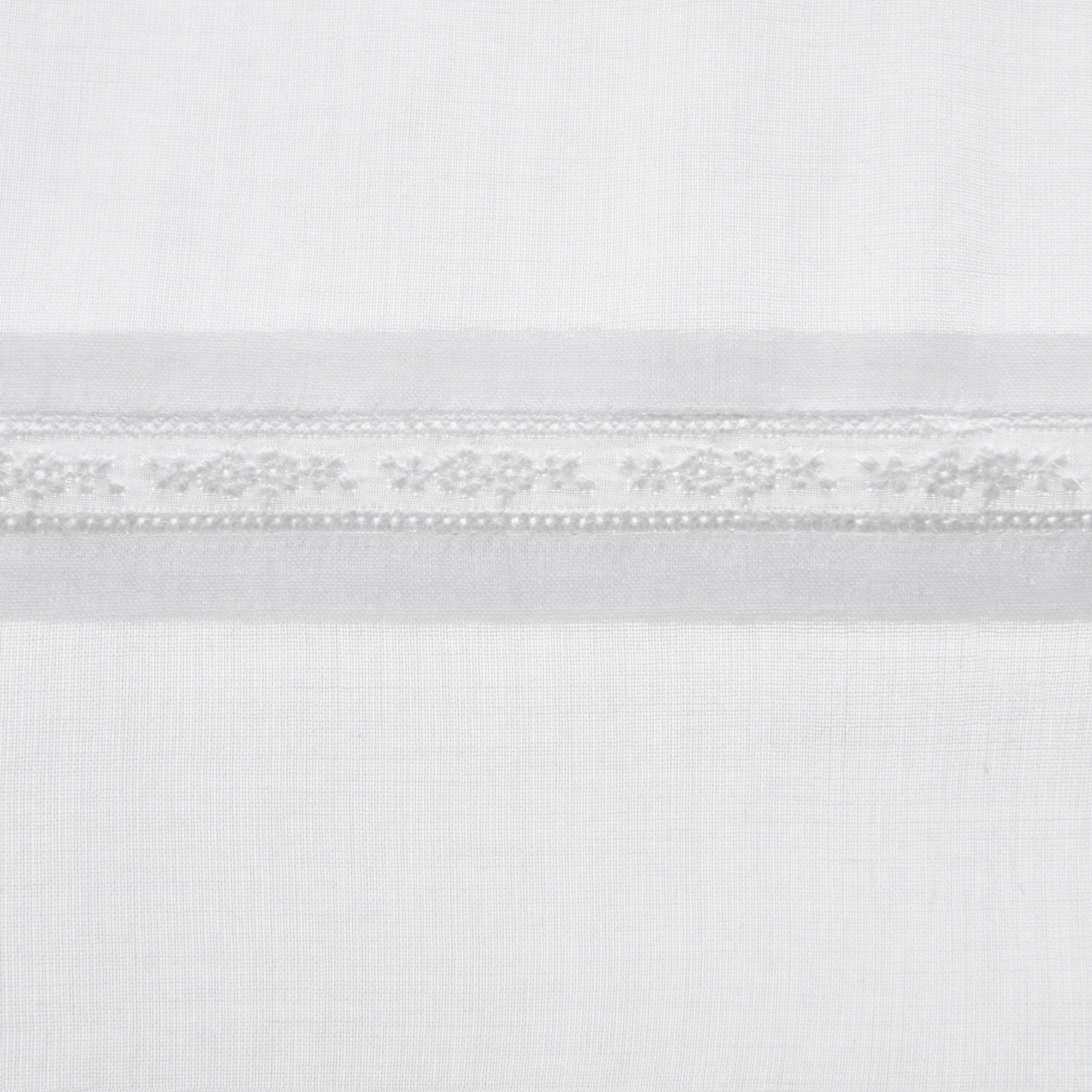 Baumwollvorhang Wicky 140x245cm - Weiß, MODERN, Textil (140/245cm) - MÖMAX modern living