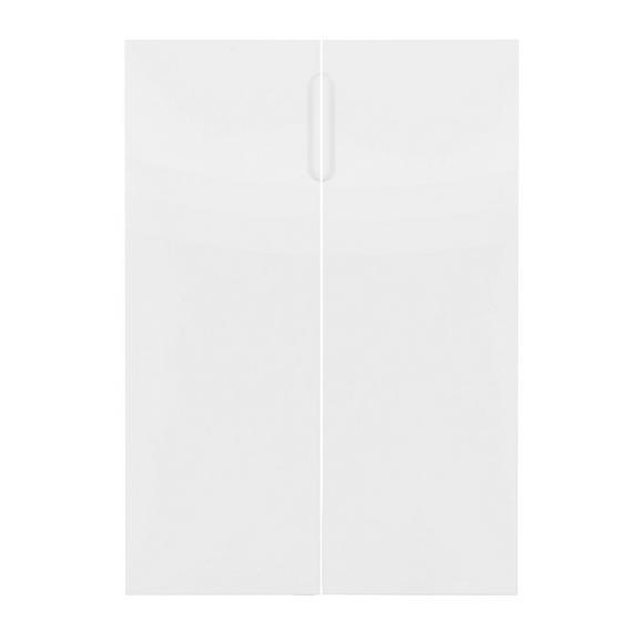 Türenset in Weiß Hochglanz - Weiß, MODERN, Holzwerkstoff (74/103/2cm) - Mömax modern living