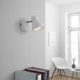 Strahler Spotty mit LED - Weiß, Metall (8/14cm) - Bessagi Home