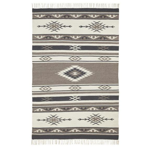 Teppich Kelim Finn ca.80X150CM - Multicolor, KONVENTIONELL, Textil (80/150cm) - Bessagi Home