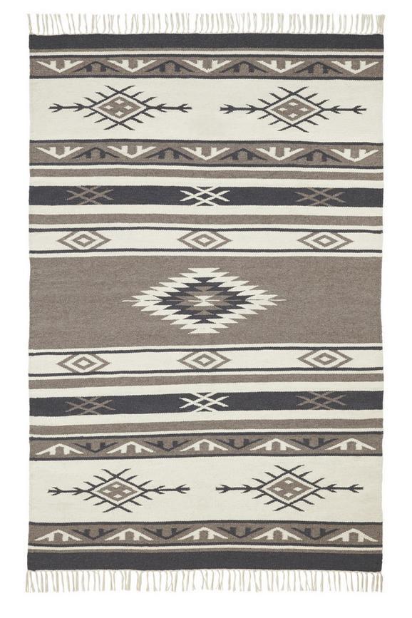 Teppich Kelim Finn ca.80x150cm - Multicolor, KONVENTIONELL, Textil (80/150cm) - Premium Living