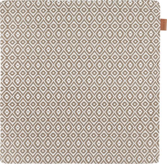 Prevleka Blazine Jenni - sivo rjava, Moderno, tekstil (40/40cm)