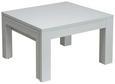 Couchtisch Weiß - Weiß, MODERN, Holzwerkstoff/Metall (70-120/43/68cm) - Modern Living