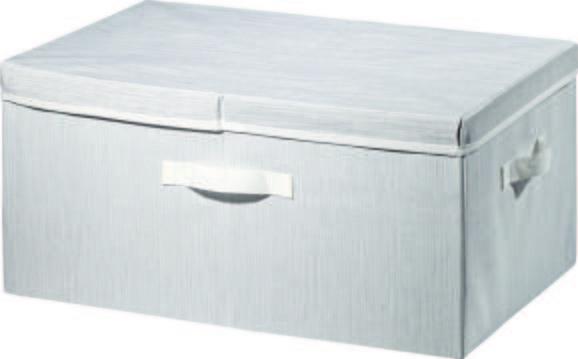 Škatla Za Shranjevanje Sonia - svetlo siva, Moderno, tekstil (55/38/26cm) - Mömax modern living