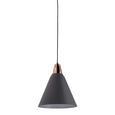 Pendelleuchte Xander - Grau/Kupferfarben, MODERN, Metall (31/31/120cm) - Bessagi Home