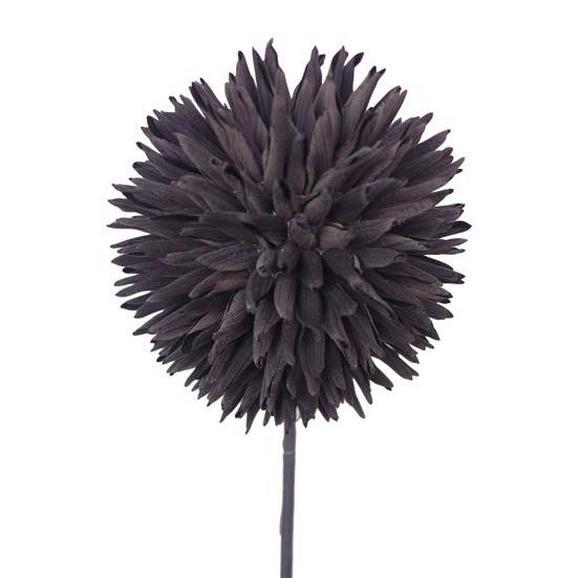 Umetna Roža Romeo - črna, Moderno, kovina/umetna masa (92cm)
