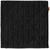 Kissenhülle Mary Samt Schwarz 45x45cm - Schwarz, MODERN, Textil (45/45cm) - Mömax modern living