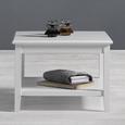 Couchtisch Claudia Vintage ca.65x65cm - Weiß, KONVENTIONELL, Holz (65/65/45cm) - Modern Living