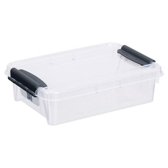 Aufbewahrungsbox Chaos ca. 0,9l - Transparent, MODERN, Kunststoff (21/14,2/5,7cm)