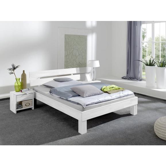FUTONBETT JULIA - Weiß, Design, Holz (100/200cm)