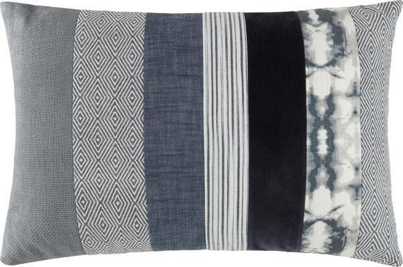 Okrasna Blazina Jimmy - modra, Trendi, tekstil (40/60cm) - Mömax modern living