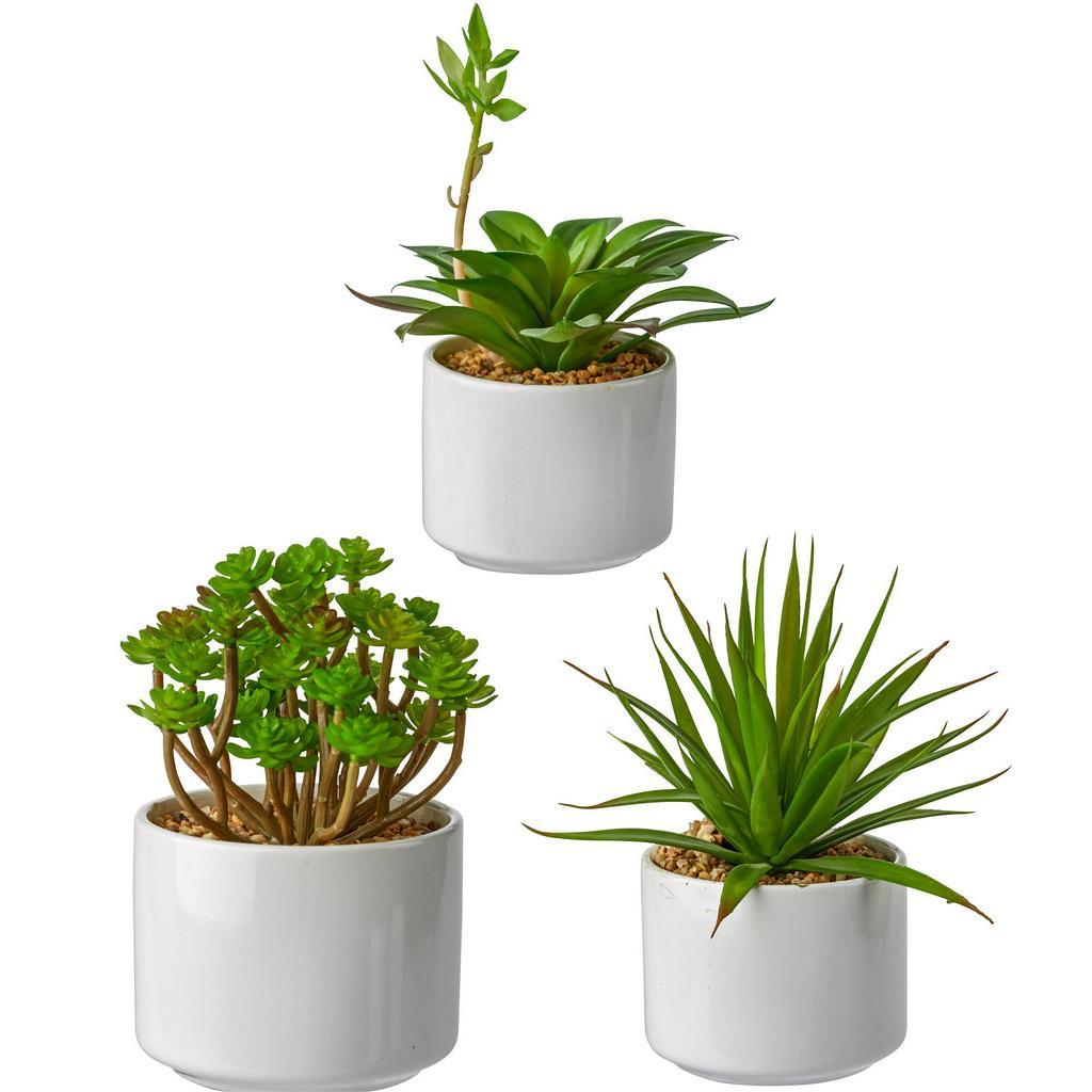 Kunstpflanze Helena in Grün