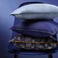 Kissen Tessa Hellblau ca. 40x40cm i - Hellblau, MODERN, Textil (40/40cm) - Bessagi Home