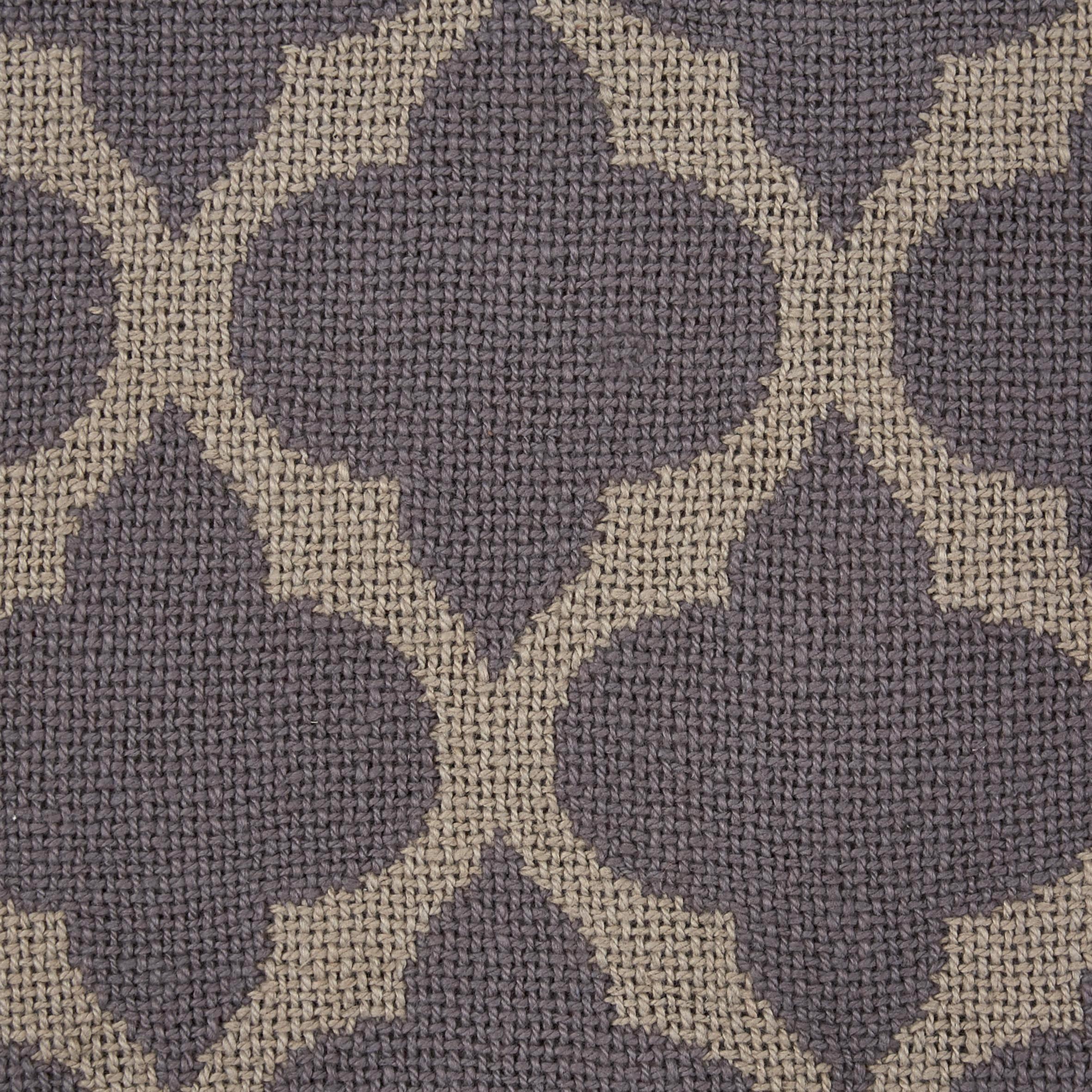 Baumwolldecke Ornament 130x170cm - Braun/Grau, MODERN, Textil (130/170cm) - MÖMAX modern living