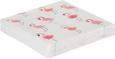 Serviette Pretty Flamingo Rosa/Weiß - Rosa/Weiß, Papier (33/33cm)