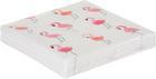 Szalvéta Pretty Flamingo - Rózsaszín/Fehér, Papír (33/33cm)