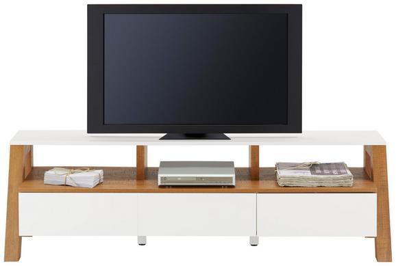 TV-Element Braun/Weiß - Braun/Weiß, MODERN, Holzwerkstoff (160/46/42cm) - Mömax modern living