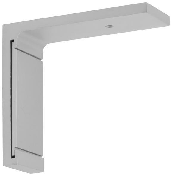 Träger Style Kurz Alufarben - Alufarben, Metall (6,5cm) - Premium Living