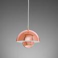 Hängeleuchte max. 40 Watt 'Jazzy' - Kupferfarben, Metall (20/20/120cm) - Bessagi Home