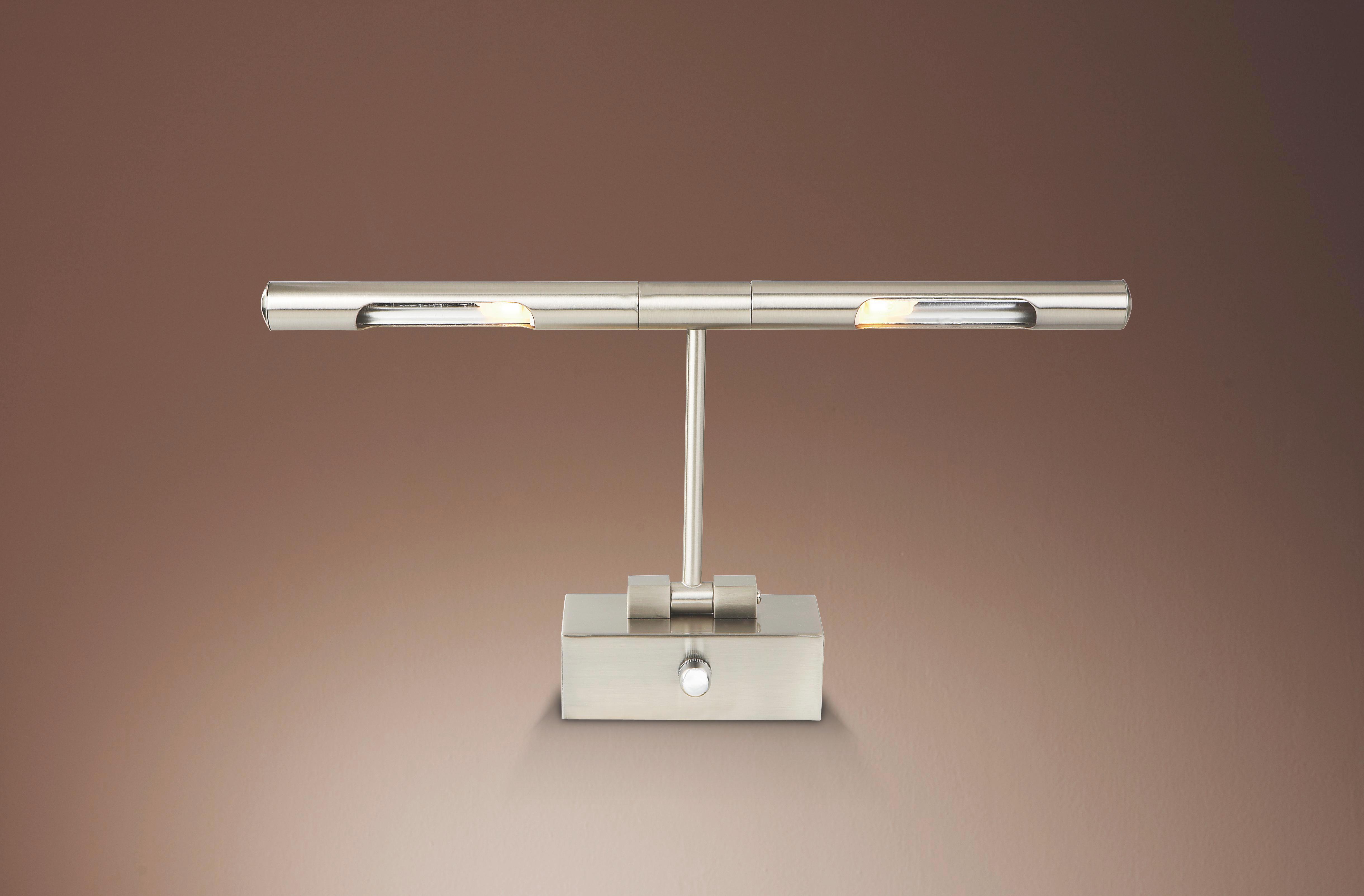 Falilámpa Melisa - konvencionális, fém (40,5cm)