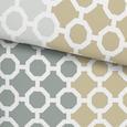 Posteljnina Olaf - sivo rjava/zelena, Konvencionalno, tekstil (140/200cm) - Mömax modern living