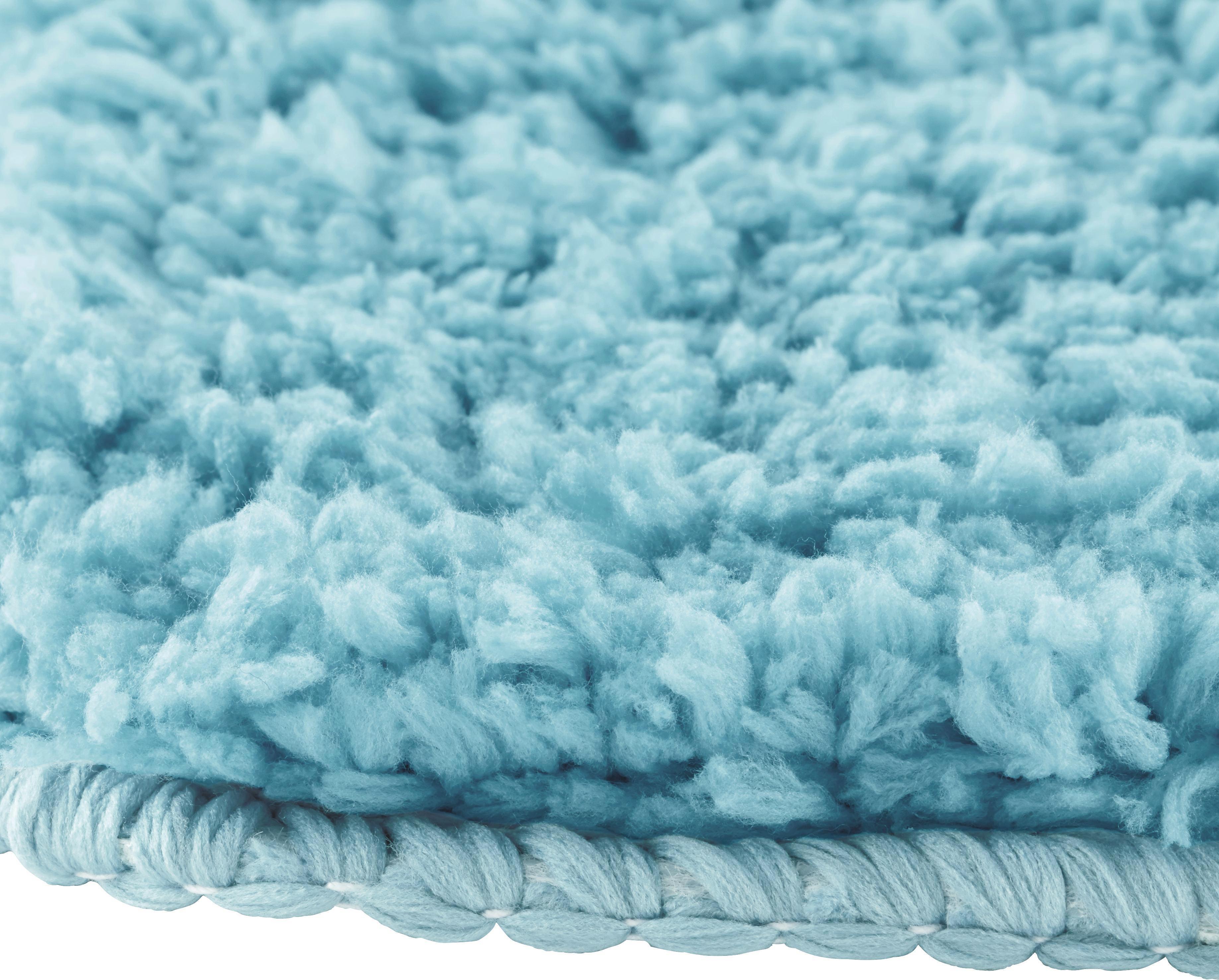 Fürdőszobaszőnyeg Christina - világos kék, textil (60/90cm) - MÖMAX modern living