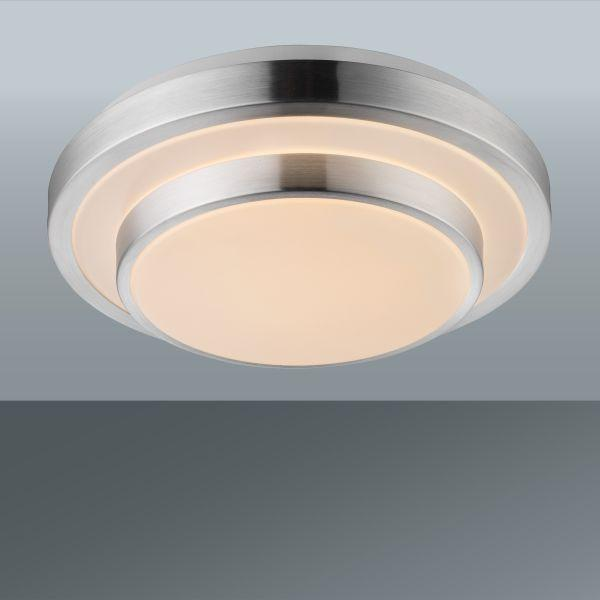Led Mennyezeti Lámpa Melvin - fehér, konvencionális, műanyag/fém (29/9cm) - MÖMAX modern living
