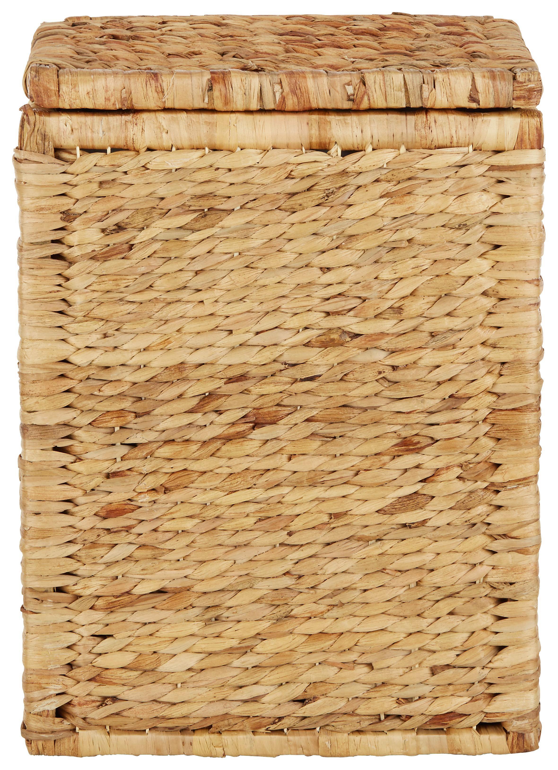 Szennyestartó Max - natúr színek, romantikus/Landhaus, további természetes anyagok/textil (38/52/27cm) - MÖMAX modern living