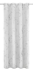 Baumwollvorhang Madleine 140x245cm - Weiß, MODERN, Textil (140/245cm) - Mömax modern living