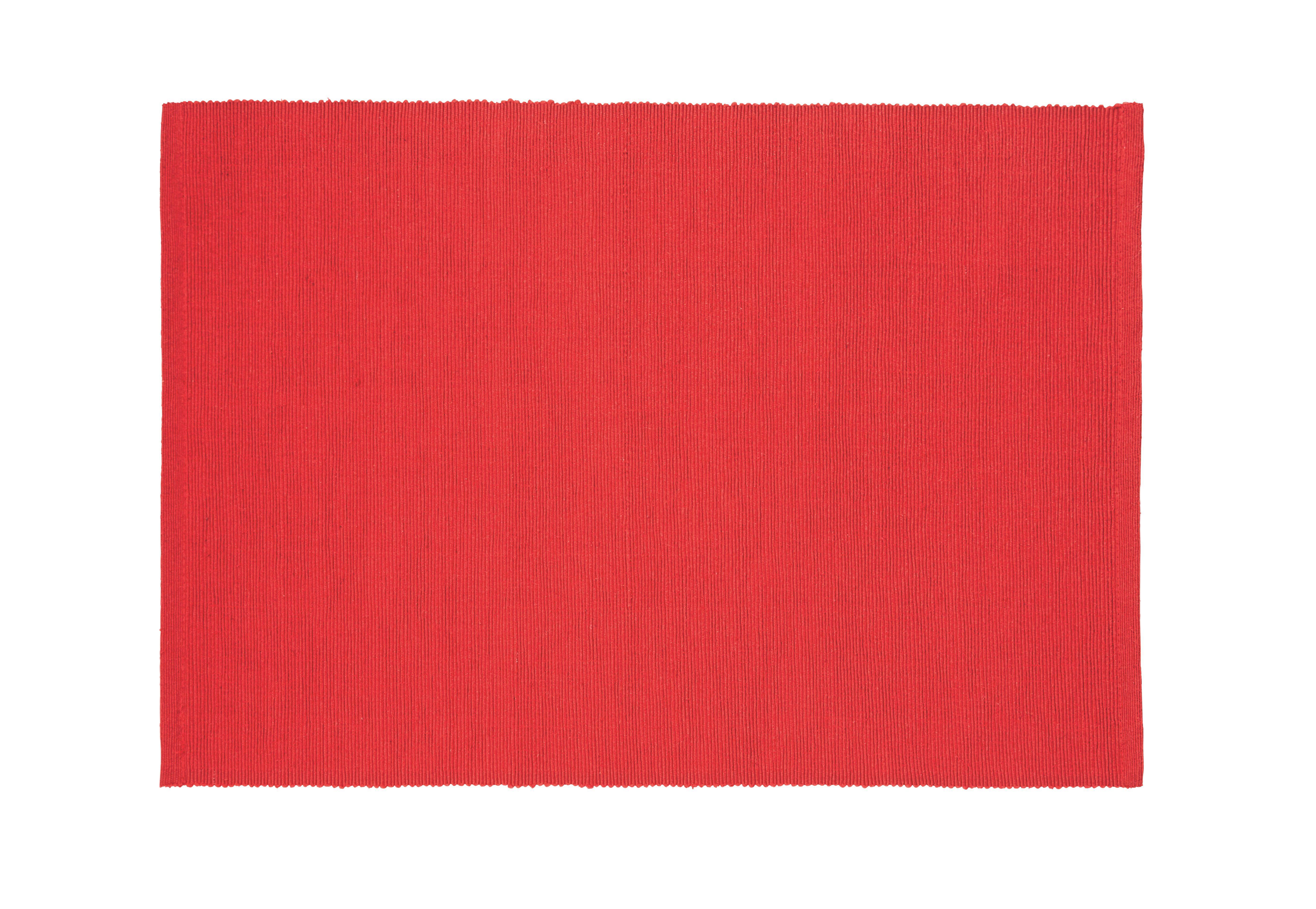 ASZTALI SZETT MAREN - piros, textil (33/45cm) - BASED