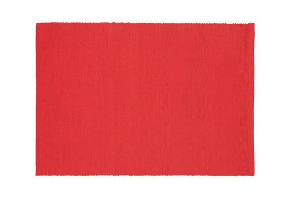 Pogrinjek Maren - rdeča, tekstil (33/45cm) - Based