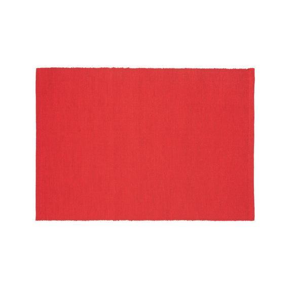 Tischset Maren Rot - Rot, Textil (33/45cm) - Based