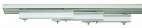 Lapfüggöny Rögzítő Szett Jerry - ezüst színű, fém (210cm) - MÖMAX modern living
