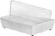 Unterbettroller Easy Big aus Kunststoff - Transparent, Kunststoff (79.5/18.0/58.3cm)