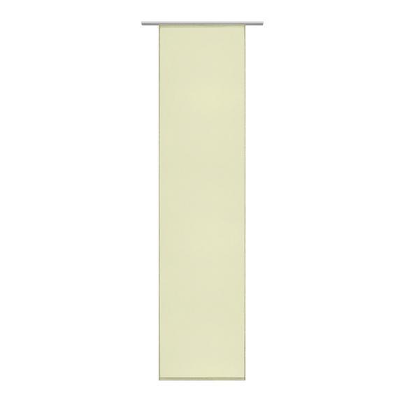 Draperie Panou Flipp Vual - verde, textil (60/245cm) - Based