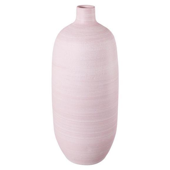 Dekovase Leonie Hellrosa - Hellrosa, Basics, Keramik (20/50cm)