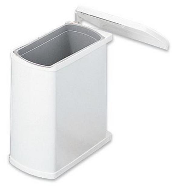 Abfallsammler Ökoflex - Weiß, Basics, Kunststoff/Metall (38,9/41,2/20,3cm)