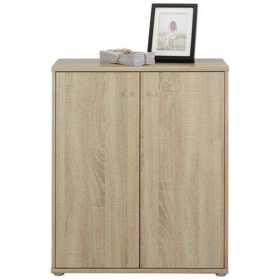 Komoda Tempra - aluminij/siva, Moderno, kovina/umetna masa (72/86/34cm) - Mömax modern living
