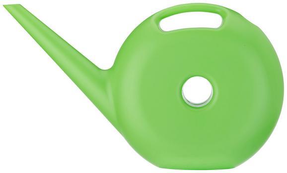 Gießkanne Donut in Grün aus Kunststoff - Grün, Kunststoff (44/26/11cm) - Mömax modern living