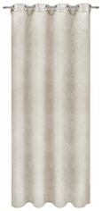 Ösenvorhang Linda in Natur, ca. 140x245cm - Naturfarben, KONVENTIONELL, Textil (140/245cm) - Mömax modern living