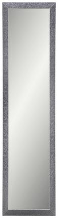 Wandspiegel Silber 40x160cm - Grau, MODERN, Glas/Holzwerkstoff (40/160cm)