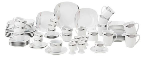 Kombinirani Servis Move - črna/bela, Konvencionalno, keramika - MÖMAX modern living