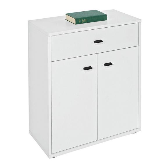 Comodă 'boni' - alb, Modern, compozit lemnos (60/70/30cm)