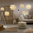 Abajur Pentru Lămpi Rossi - alb, Romantik / Landhaus, textil (25-35/25cm) - Modern Living