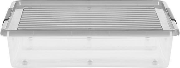Aufbewahrungsbox Mega - Transparent, Kunststoff (76/57/18cm) - Mömax modern living