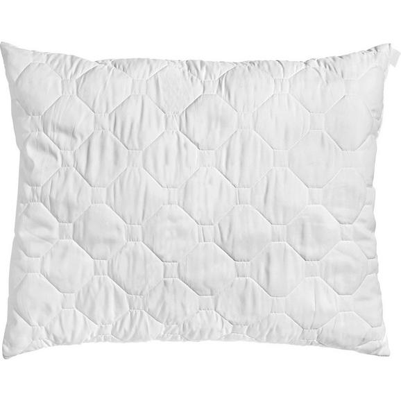 Kopfkissen Aloe Vera Weiß ca. 70x90cm - Weiß, Textil (70/90cm) - Nadana
