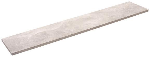 Falipolc Skate 120/20 - szürke, modern, faanyagok (120/1,8/20cm)